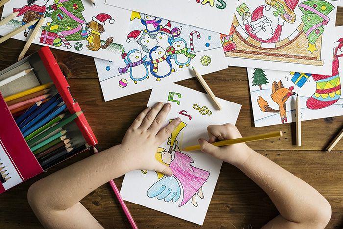 Usia 4 tahun : kemampuan menggambar dan melukis orang