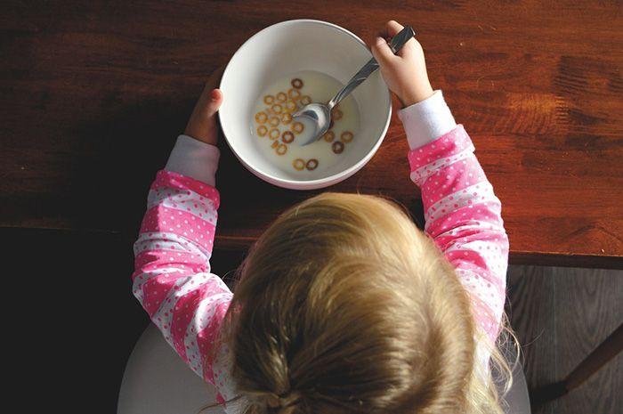 Usia 9 tahun : makanan sarapan sehat