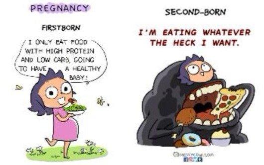 Perbedaan saat mengandung anak pertama dan kedua